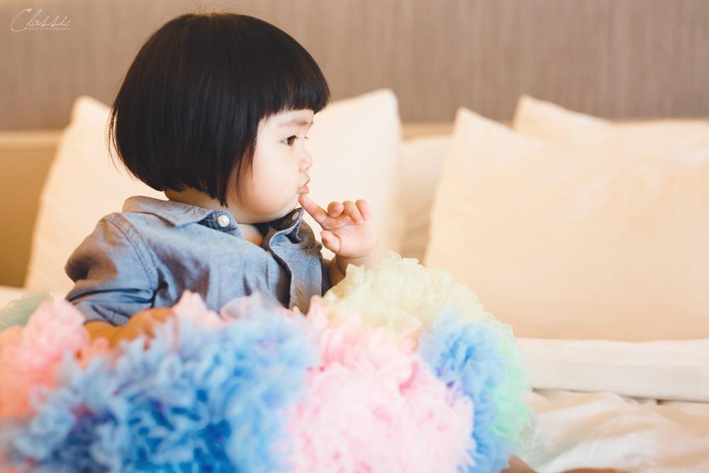 Mifei週歲生日寶寶寫真