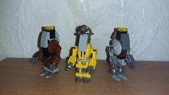 Protectrons (Brickule) Tags: robot lego scifi fallout apoc robco