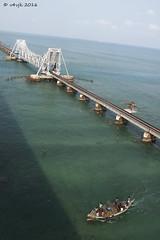 Pamban Bridge (v4vjk) Tags: canon tn tamilnadu rameswaram chola choladynasty canon40d
