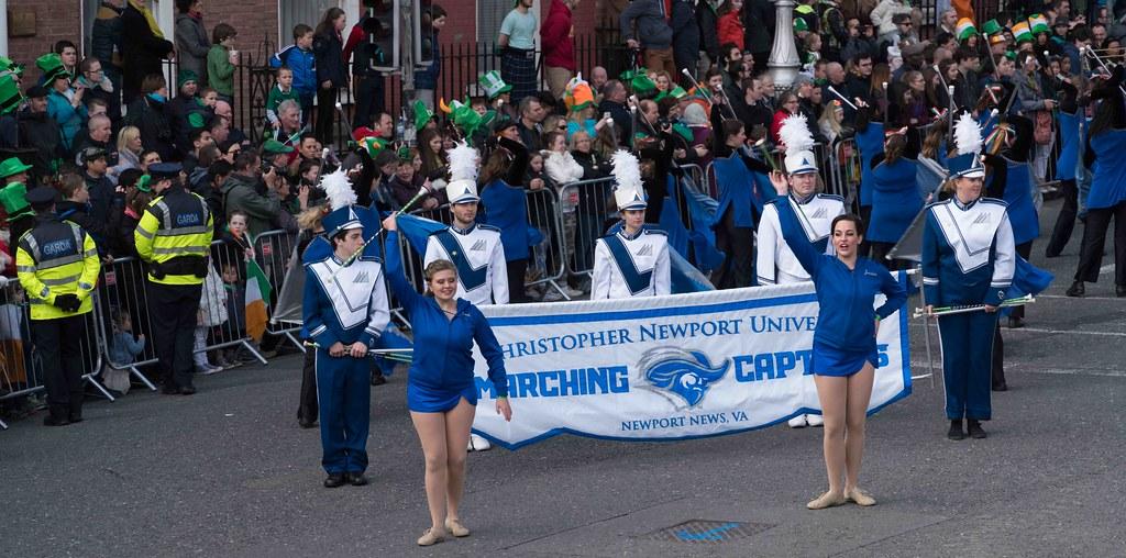 Christopher Newport University Marching Captains-112416