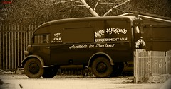 Ford Fordson Thames Mrs Miggins Refreshment Van Wellingborough Northamptonshire UK (CreatureStream) Tags: uk ford thames northamptonshire van mrs wellingborough refreshment fordson miggins