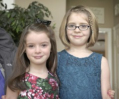 Mady and Evie (pete4ducks) Tags: girls portrait kids oregon children beaverton cropped 500views evie madelyn mady evangeline 2016 sextonmountain on1photos on1pics