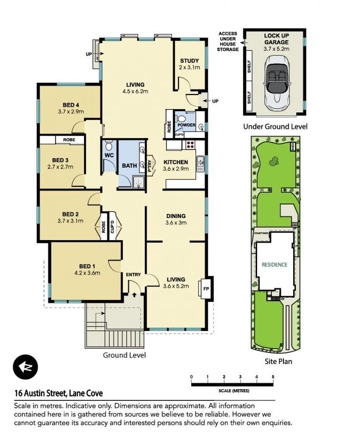 Floorplan for 16 austin street lane cove nsw 2066 for 16 brookers lane floor plans