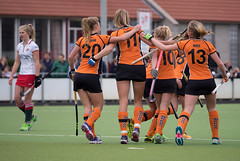 P3260037 (roel.ubels) Tags: hockey sport oz zwart mop oranje fieldhockey 2016 vught topsport hoofdklasse