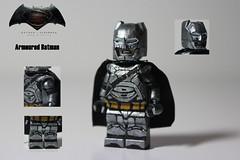 Armoured Batman - BvS (TheCampervanTom) Tags: lego superman batman vs armored