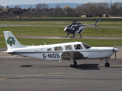 G-NIOS Piper Saratoga 32 (Aircaft @ Gloucestershire Airport By James) Tags: james airport saratoga gloucestershire piper lloyds pa32 egbj gnios