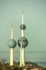 Kuwait Towers (Ismail Photos) Tags: kuwait kuwaitcity alasimah