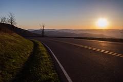 A sunset on Skyline Drive in Shenandoah National Park, Virginia (D2 Photography) Tags: sunset mountains landscape virginia nationalpark sunsets shenandoah nationalparks hdr highdynamicrange blueridgeparkway landscspes