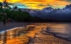One Boracay Morning (jed52400) Tags: morning travel trees vacation beach clouds sunrise sand waves philippines beachlife boracay hdr saltwater sandybeach walkingonsand