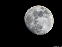 Luna gibbosa crescente (Paolo Gabriele Maiero) Tags: light sky moon primavera nature night spring space details natura luna crescent astrophotography cielo astrofotografia astronomy astronomia notte luce spazio orizzontale crateri lunacrescente