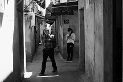 If I want your opinion, I'll give it to you~ Qibao (~mimo~) Tags: china old people alley asia shanghai streetphotography prostitution qibqo