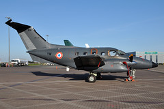 108 / YW  EMB-121  French Air Force (n707pm) Tags: ireland airplane airport aircraft military xingu dub transporter ctm faf yw eidw emb121 franchairforce 1o8 20042016 dublinapril2016