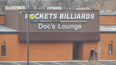 pockets billiards docs lounge (timp37) Tags: building sign march illinois lounge billiards docs pockets crestwood 2016