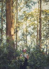 12/52 (K.Ma) Tags: trees portrait primavera nature girl forest golden spring woods dynamic fineart makeup portraiture concept ebony blackgirl flickrfriday
