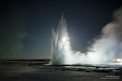 shs_n8_068730 (Stefnisson) Tags: hot water night landscape iceland spring area hotspring geothermal geysir strokkur sland ntt vatn hver haukadalur hverasvi jarhiti stefnisson