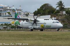 DSC_5810Pwm (T.O. Images) Tags: st airport princess air express juliana maarten sxm antilles atr42