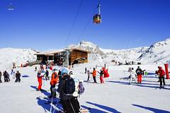 Plattieres gondola (A. Wee) Tags: france alps skiresort gondola meribel  troisvalles  les3valles plattieres