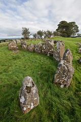 Stones of Knockoneill court (backpackphotography) Tags: ireland megalithic court photography ancient rocks stones tomb londonderry backpack prehistoric derry megalith northern ireland tomb court knockoneill knockoneill