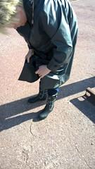 WP_20160430_17_28_56_Pro (Kleppergarry) Tags: vintage rubber latex klepper regenmantel kleppermantel kaputze gummimantel