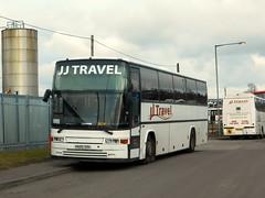 Volvo B10M Jonckheere, K600 SOU (miledorcha) Tags: park travel school bus scotland volvo coach jj jay transport hamilton southern coaches jonckheere psv pcv deauville lowe lanarkshire coatbridge barrhead starline mcnairn b10m greengairs b10m62 cuminestown k600sou k909rge b1afc