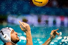 FINA Men's Water polo Olympic Games Qualifications Tournament 2016 - Trieste (ITA) (fina1908) Tags: blue italy white men green fina ita trieste waterpolo olympicgames qualification 2016 pallanuoto tournament2016 7larsgottemakerned