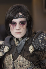 Skyrim - Dragonscale Armor (gxle) Tags: portrait scale canon eos rebel helsinki kiss dragon cosplay armor t3i x5 2016 600d dragonscale skyrim rebelt3i kissx5 yukicon 2k16 yukicon2016
