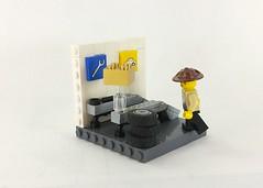 LEGO Racers 2 - Brick Stop (TheRoyalBrick) Tags: lego vignette snot moc foitsop legoracers2