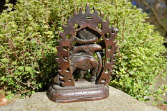 Vajrapani Tibetan Bronze Statue (back) (TREASURES OF WISDOM) Tags: sculpture whatisthis love look statue mystery bronze wow wonderful religious nice worship shrine view lotus spirit buddha yes buddhist magic like buddhism visit exhibition collection figure sacred offering unknown ritual tibetan longevity nepalese unusual vibes spirituality wisdom om spiritual yingyang artifact healing brilliant puja deity shamanic mystic votive himalayan pagan artefact unseen asianart mythical tantric tribalart ancientworld vajrapani ethnographic intresting godofwisdom ommanipadmihum bronzetreasures
