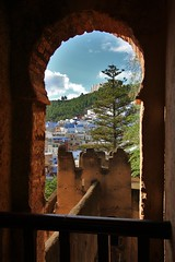 Lovely view! (Satriver) Tags: africa travel place el morocco chefchaouen hammam kasbah bluecity outa