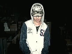 #93 underground (fattanal) Tags: street light boy shadow black dark underground darkness ombra ombre cap skate skater hiphop luci rap gangsta luce cappello ragazzo