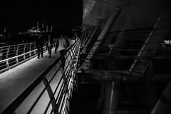 lead me into the night / bye for now (zgr Grgey) Tags: street bridge shadow lines 35mm subway evening lowlight nikon d750 goldenhorn 2016 hali dxonfx