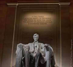 Lincoln Memorial (Micha67) Tags: city usa building monument architecture night michael washingtondc washington nikon memorial nightshot abraham lincoln d800 schaefer inthistempleasintheheartsofthepeopleforwhomhesavedtheunionthememoryofabrahamlincolnisenshrinedforever michaelschaeferphotography inthistempleasintheheartsofthepeopleforwhomhesaved