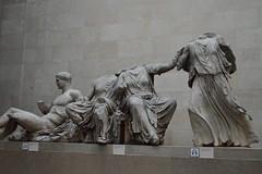 east pediment (Mr. Russell) Tags: england london greek ancient greece marble britishmuseum elginmarbles eastpediment