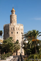 Torre del Oro (villeah) Tags: architecture sevilla andaluca spain seville es watchtower torredeloro