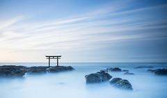 Serenity at Oarai (Ibaraki, Japan) (BoyFamily) Tags: japan jp slowshutter ibaraki ibarakiken higashiibarakigun slta99