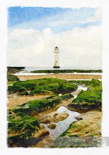 Lighthouse- Perch Rock, UK, 2013