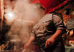 steam (Georgie Pauwels) Tags: food cooking public candid cook streetphotography steam fujifilm moment streetfood