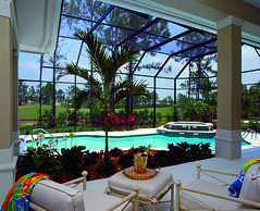 Biltmore Trace Home Plan by The Sater Design Collection (Sater Design Collection) Tags: pool verandah
