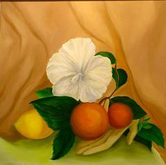 """Untitled,"" Oil painting by Alexis Culvers (ali eminov) Tags: students nebraska wayne paintings galleries artists oilpaintings painters studentartists nordstandvisualartsgallery alexisculvers"