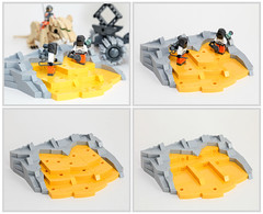 Moon Cheese (Galaktek) Tags: lego space scifi minifig galaktek