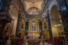 Sainte-Rparate Altar (lncgriffin) Tags: travel france art church architecture zeiss painting nice nikon europa europe altar d750 baroque nizza distagon rpubliquefranaise saintereparate nicecathedral distagon2128zf gloryofsaintreparata