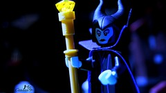 Maleficent (Canaan May) Tags: lego disney series minifigure maleficent