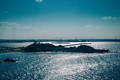 115/366 : Kabushima -  (hidesax) Tags: ocean sky japan port island nikon pacific aomori hachinohe nikkor sunlit kabushima 2470mm f28g  365project 366project 115366 hidesax d800e 366project2016 kabushima