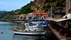 Assos Ancient Cities  - Assos.  Harbor (Feridun F. Alkaya) Tags: turkey greek ancient ngc historical assos asos behramkale assus