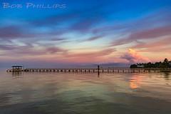 Bokeelia Sunset (tropicdiver) Tags: sunset gulfofmexico clouds pier dock florida sailboats southwestflorida pineisland pineislandsound