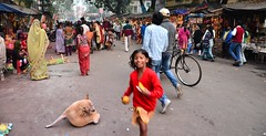 bundle of joy (s) Tags: india childhood kali streetshots streetphotography newyearseve kolkata streetchildren calcutta sadhu westbengal kalighat cityofjoy joyofchildhood kalighatkalitemple