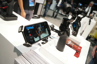 DJI Osmo at CES 2016