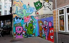 Lastplak & Friends - Timmer (oerendhard1) Tags: friends urban streetart art beer graffiti boat cafe rotterdam kat meer die das edo timmer rath oles lastplak nol oxalien