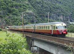 SBB RAe 1053 TEE Faido 02/06/2007 (stefano.trionfini) Tags: train suisse sbb rae svizzera bahn tee ffs treni gotthard gottardo
