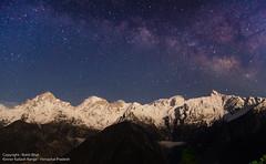 Kinner Kailash Range. (rohit_bhat10) Tags: valley kailash himachal himalayas pradesh parvati chini kinnaur kalpa shivling kinner sutlej jorkanden raldang